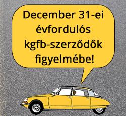 Vasárnap meghirdetik a 2015 január 1-jétől érvényes kötelező gépjármű-felelősségbiztosítási (kgfb) árakat